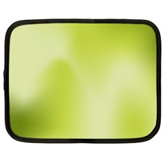 Green Soft Springtime Gradient Netbook Case (xxl)