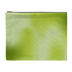 Green Soft Springtime Gradient Cosmetic Bag (xl)