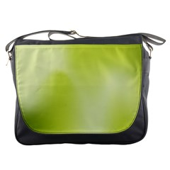 Green Soft Springtime Gradient Messenger Bags