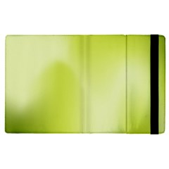 Green Soft Springtime Gradient Apple Ipad Pro 12 9   Flip Case