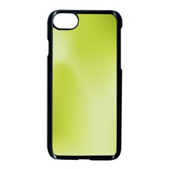 Green Soft Springtime Gradient Apple Iphone 7 Seamless Case (black)