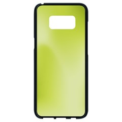 Green Soft Springtime Gradient Samsung Galaxy S8 Black Seamless Case