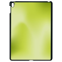 Green Soft Springtime Gradient Apple Ipad Pro 9 7   Black Seamless Case