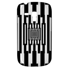 Black Stripes Endless Window Galaxy S3 Mini