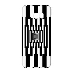 Black Stripes Endless Window Samsung Galaxy S8 Hardshell Case