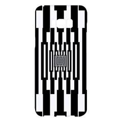 Black Stripes Endless Window Samsung Galaxy S8 Plus Hardshell Case