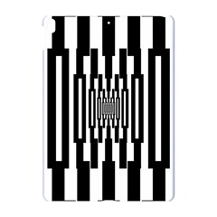 Black Stripes Endless Window Apple Ipad Pro 10 5   Hardshell Case