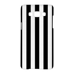 Black And White Stripes Samsung Galaxy A5 Hardshell Case