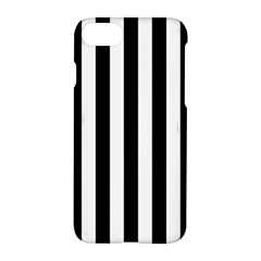 Black And White Stripes Apple Iphone 7 Hardshell Case