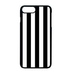 Black And White Stripes Apple Iphone 7 Plus Seamless Case (black)