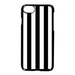 Black And White Stripes Apple Iphone 7 Seamless Case (black)