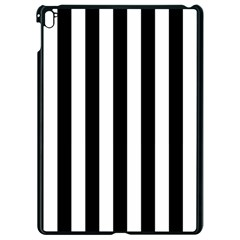 Black And White Stripes Apple Ipad Pro 9 7   Black Seamless Case