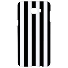 Black And White Stripes Samsung C9 Pro Hardshell Case