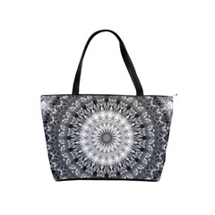 Feeling Softly Black White Mandala Shoulder Handbags