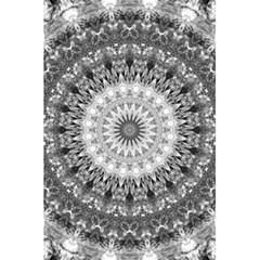 Feeling Softly Black White Mandala 5 5  X 8 5  Notebooks