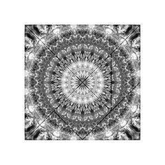 Feeling Softly Black White Mandala Acrylic Tangram Puzzle (4  X 4 )
