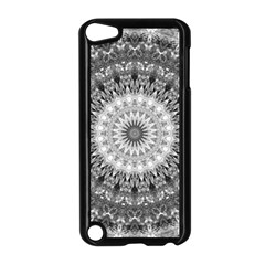 Feeling Softly Black White Mandala Apple Ipod Touch 5 Case (black)
