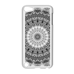 Feeling Softly Black White Mandala Apple Ipod Touch 5 Case (white)