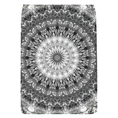 Feeling Softly Black White Mandala Flap Covers (s)