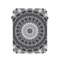 Feeling Softly Black White Mandala Apple Ipad 2/3/4 Protective Soft Cases