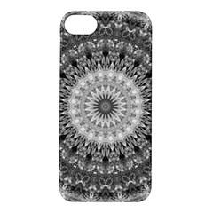 Feeling Softly Black White Mandala Apple Iphone 5s/ Se Hardshell Case