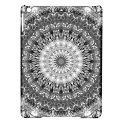 Feeling Softly Black White Mandala Ipad Air Hardshell Cases