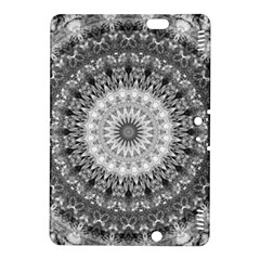 Feeling Softly Black White Mandala Kindle Fire Hdx 8 9  Hardshell Case