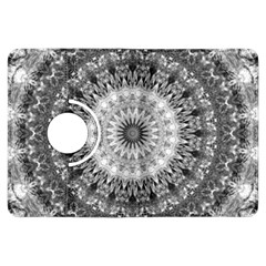 Feeling Softly Black White Mandala Kindle Fire Hdx Flip 360 Case