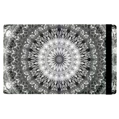 Feeling Softly Black White Mandala Apple Ipad Pro 9 7   Flip Case