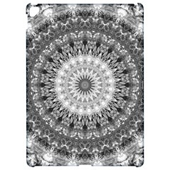 Feeling Softly Black White Mandala Apple Ipad Pro 12 9   Hardshell Case