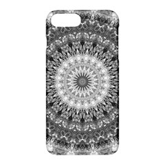 Feeling Softly Black White Mandala Apple Iphone 7 Plus Hardshell Case