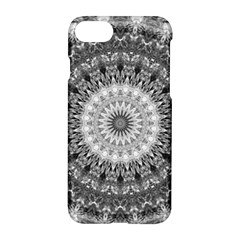 Feeling Softly Black White Mandala Apple Iphone 7 Hardshell Case