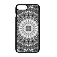 Feeling Softly Black White Mandala Apple Iphone 7 Plus Seamless Case (black)