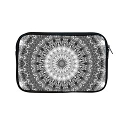 Feeling Softly Black White Mandala Apple Macbook Pro 13  Zipper Case