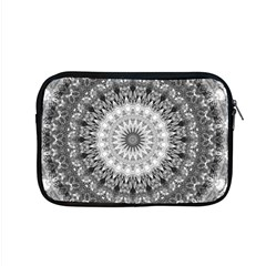Feeling Softly Black White Mandala Apple Macbook Pro 15  Zipper Case