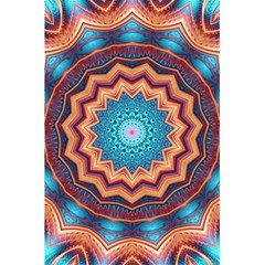 Blue Feather Mandala 5 5  X 8 5  Notebooks