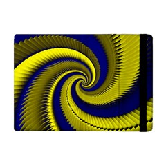 Blue Gold Dragon Spiral Apple Ipad Mini Flip Case