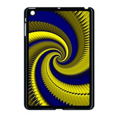 Blue Gold Dragon Spiral Apple Ipad Mini Case (black)