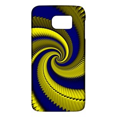 Blue Gold Dragon Spiral Galaxy S6