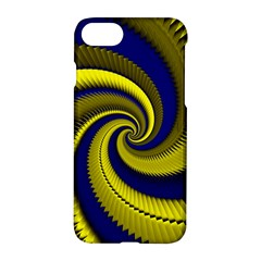 Blue Gold Dragon Spiral Apple Iphone 7 Hardshell Case