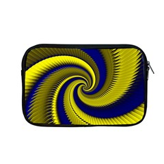 Blue Gold Dragon Spiral Apple Macbook Pro 13  Zipper Case