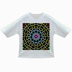 Colored Window Mandala Infant/toddler T Shirts