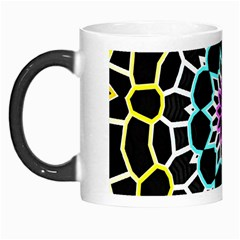 Colored Window Mandala Morph Mugs