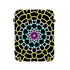Colored Window Mandala Apple Ipad 2/3/4 Protective Soft Cases
