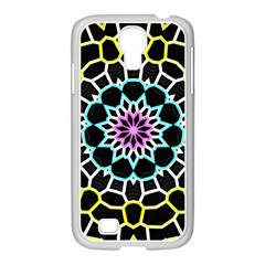 Colored Window Mandala Samsung Galaxy S4 I9500/ I9505 Case (white)