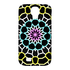 Colored Window Mandala Samsung Galaxy S4 Classic Hardshell Case (pc+silicone)