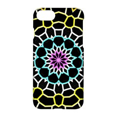 Colored Window Mandala Apple Iphone 7 Hardshell Case