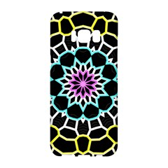 Colored Window Mandala Samsung Galaxy S8 Hardshell Case