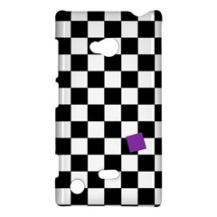 Dropout Purple Check Nokia Lumia 720