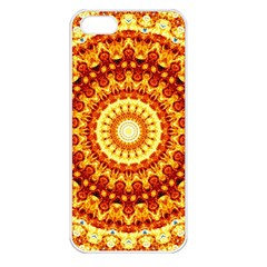 Powerful Love Mandala Apple Iphone 5 Seamless Case (white)